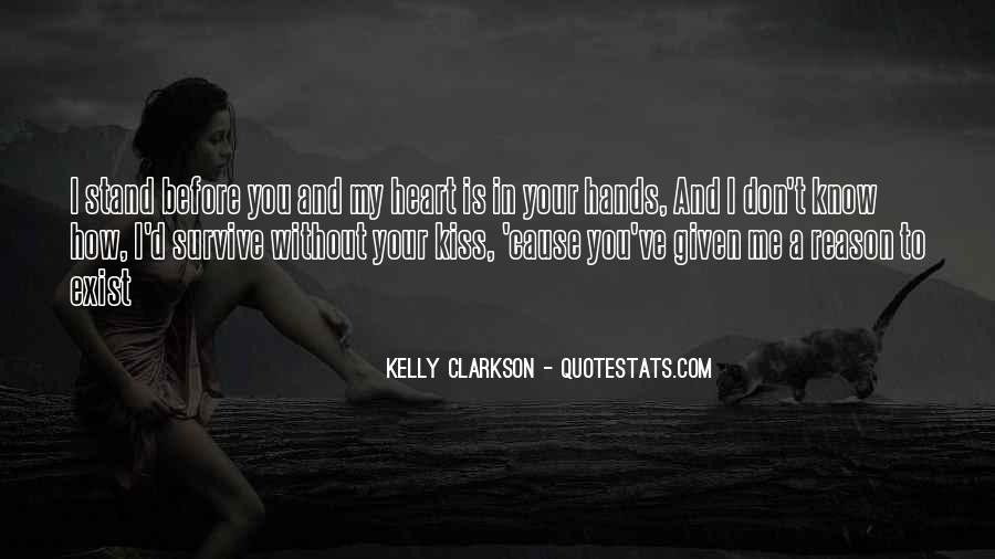 We Heart It Kiss Quotes #34945
