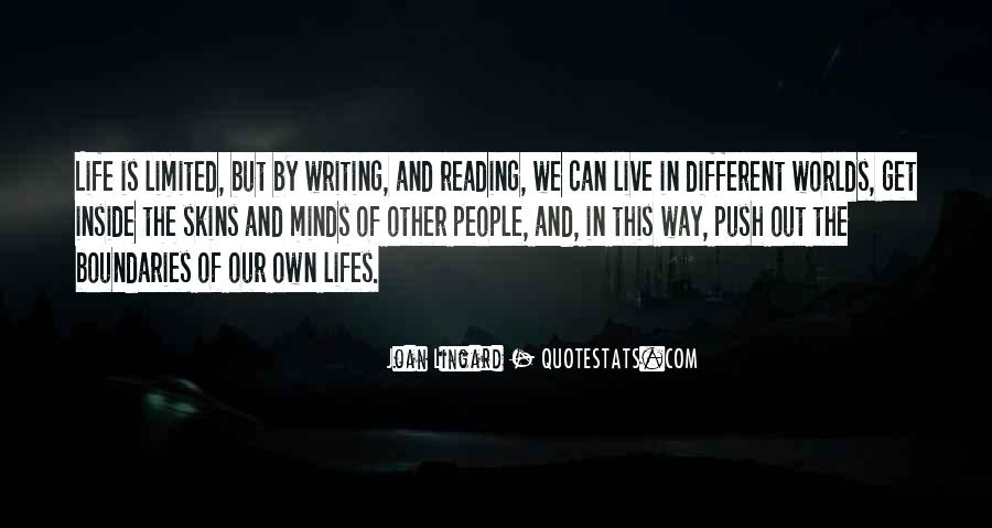 We Live In Different Worlds Quotes #1381929