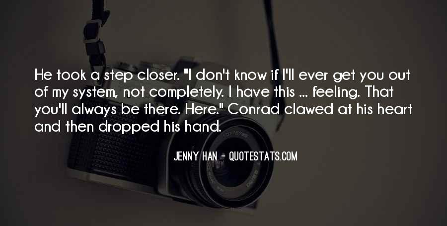We Love You Conrad Quotes #562428