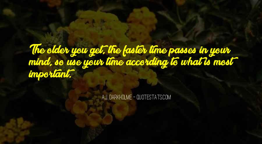 Quotes About Time Meaning Nothing #86087