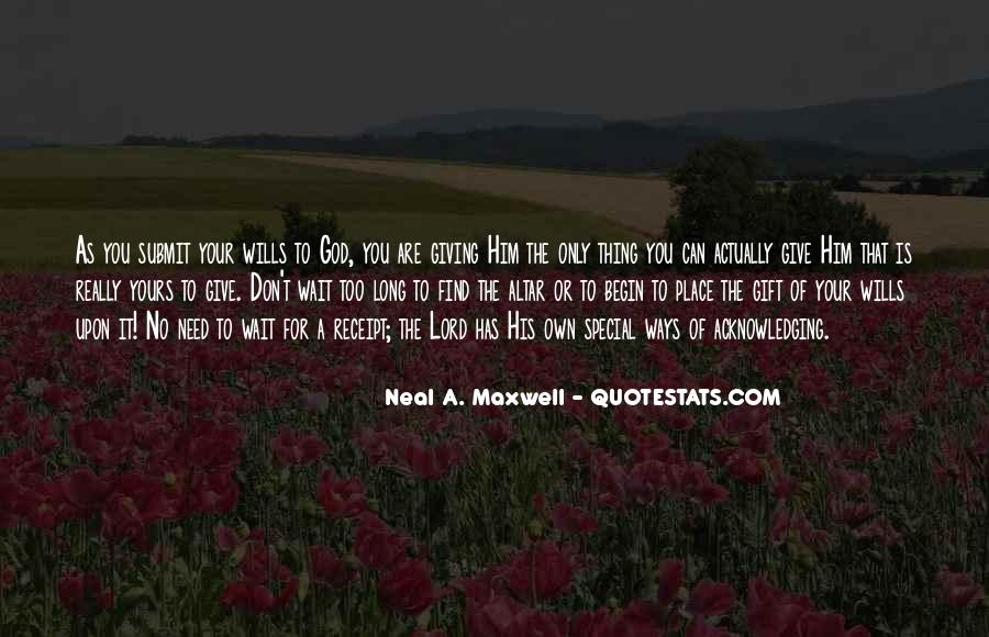 We Need You Lord Quotes #43731