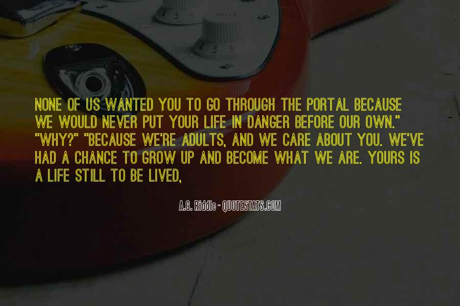 We Never Grow Up Quotes #1010506