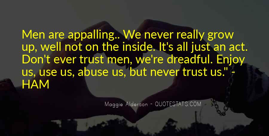 We Never Grow Up Quotes #1429002