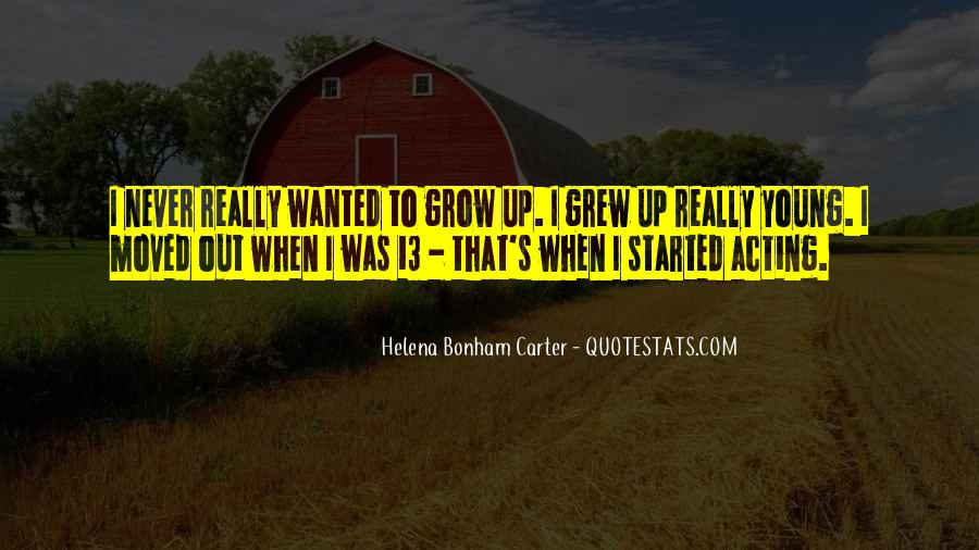 We Never Grow Up Quotes #43676