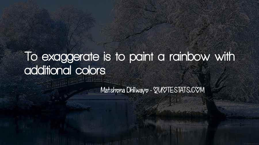 Quotes About Rainbow #23162
