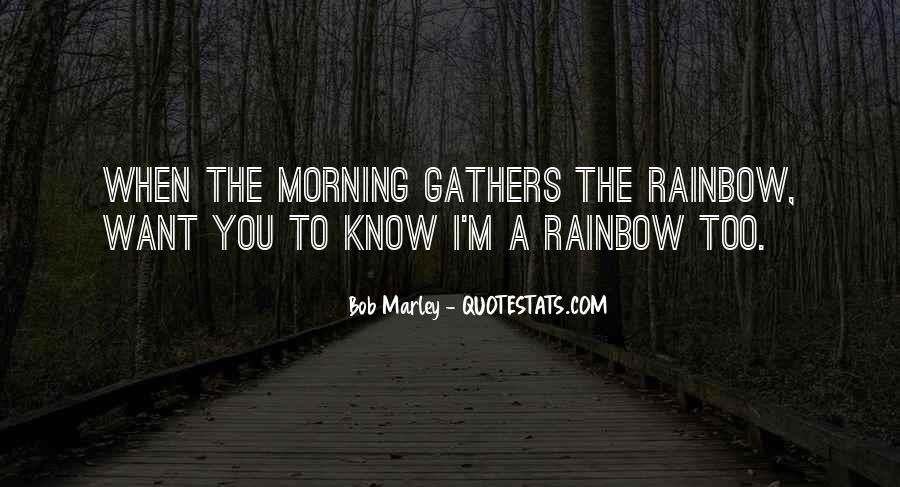 Quotes About Rainbow #44444