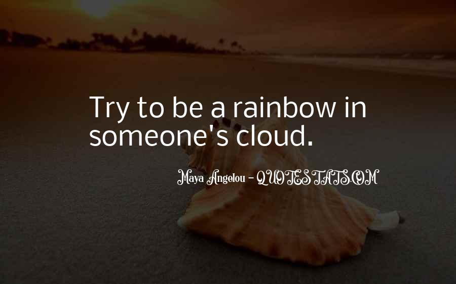Quotes About Rainbow #49074