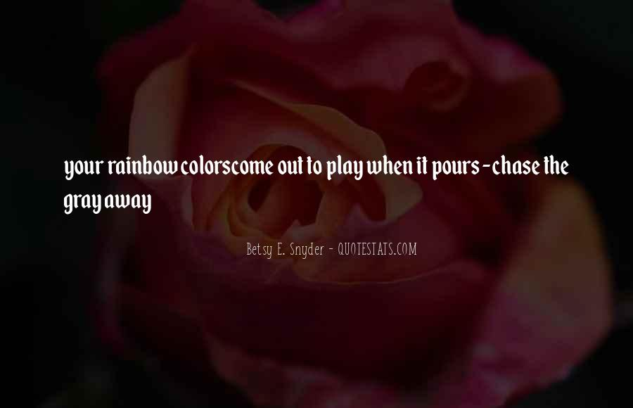 Quotes About Rainbow #49414