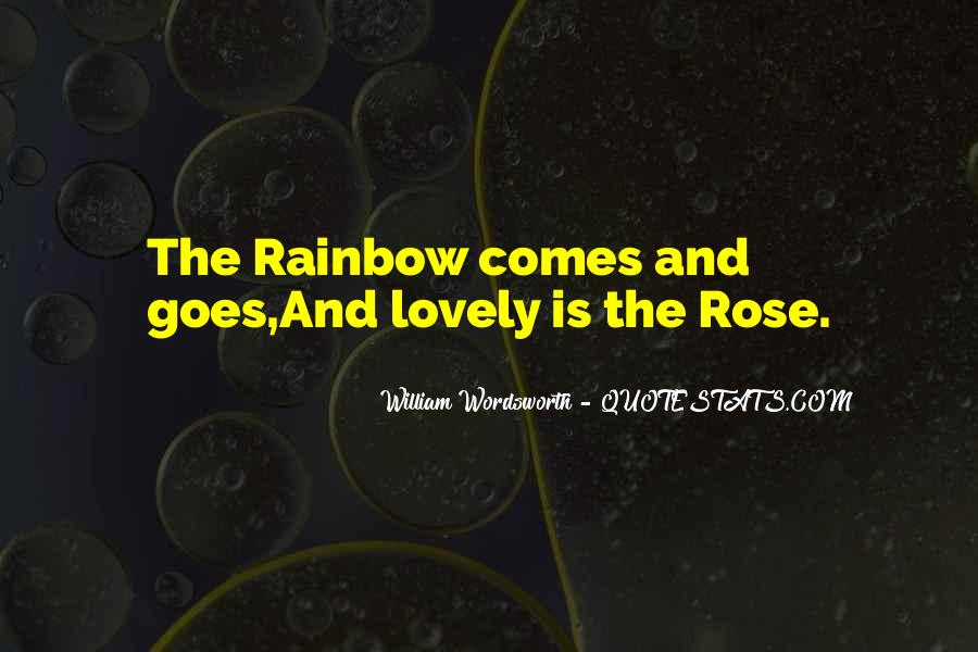 Quotes About Rainbow #63991