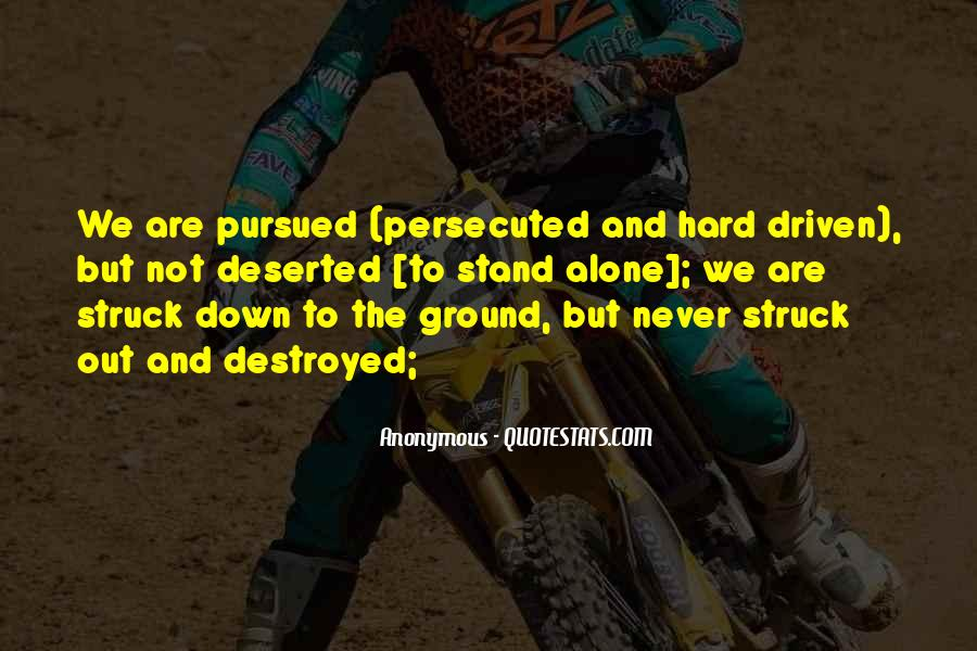 We Stand Out Quotes #108244