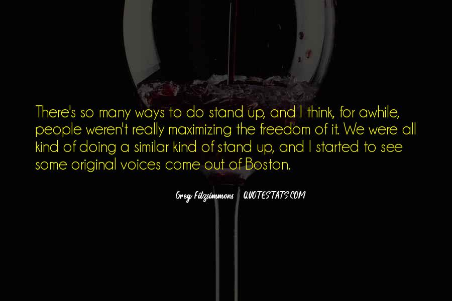 We Stand Out Quotes #1208966
