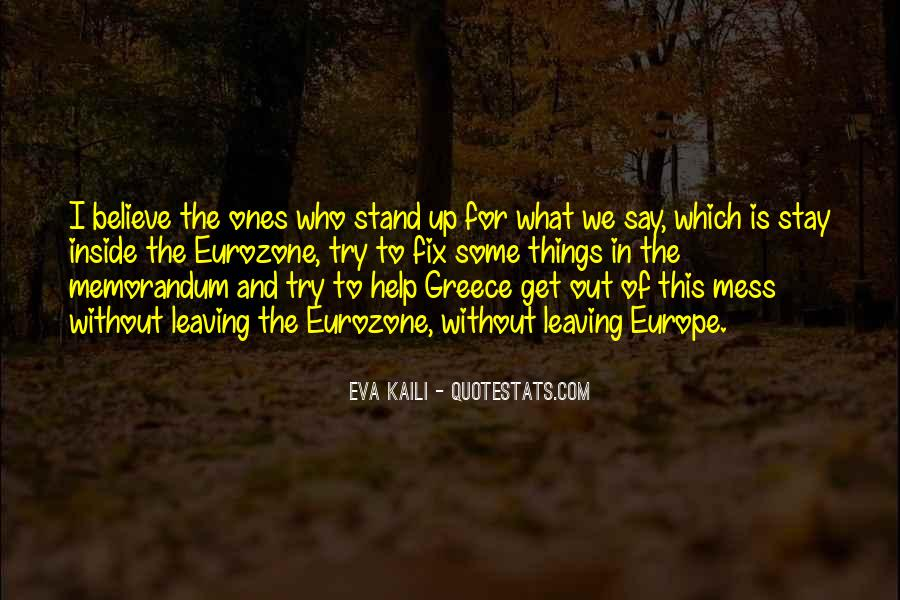 We Stand Out Quotes #25744