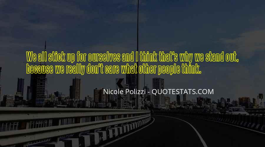 We Stand Out Quotes #429546