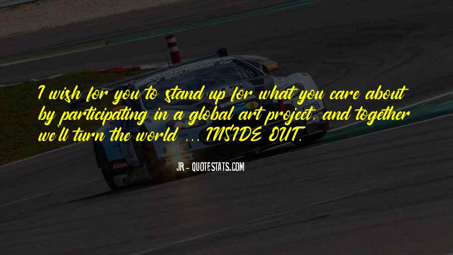 We Stand Out Quotes #624114