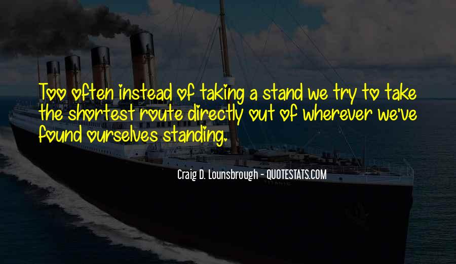 We Stand Out Quotes #863402