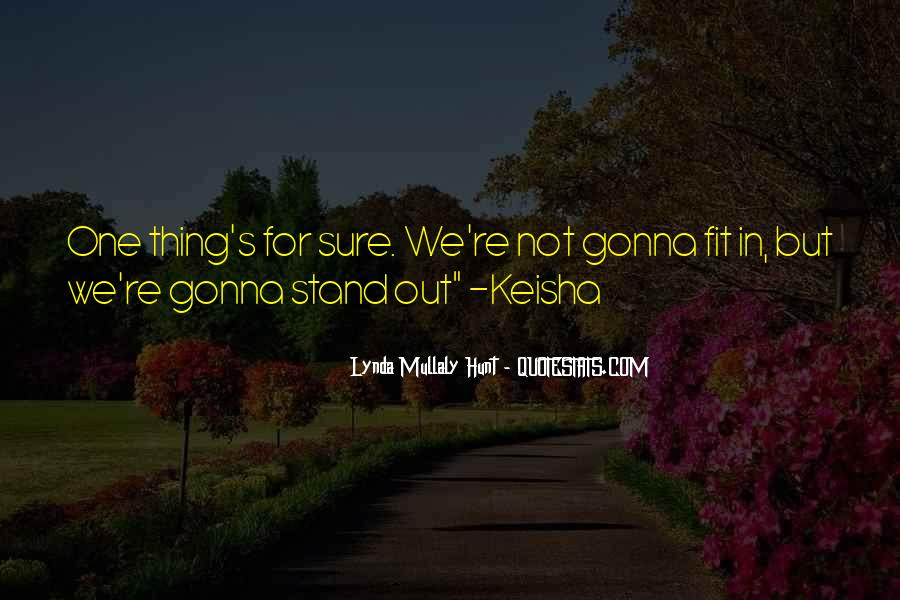 We Stand Out Quotes #967776