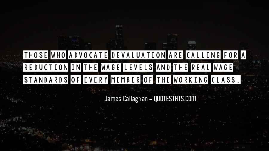 Quotes About Devaluation #1215158
