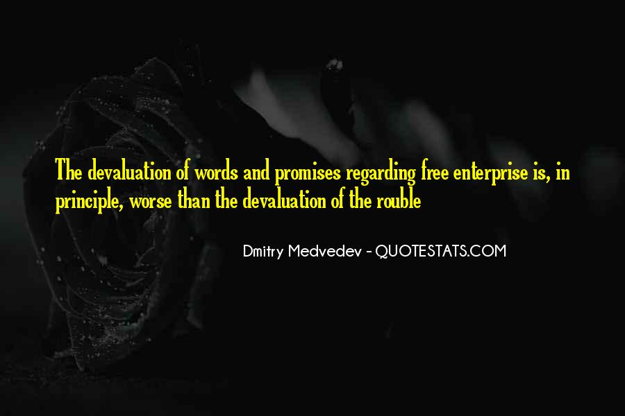 Quotes About Devaluation #1252317