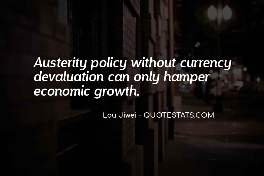 Quotes About Devaluation #1326208