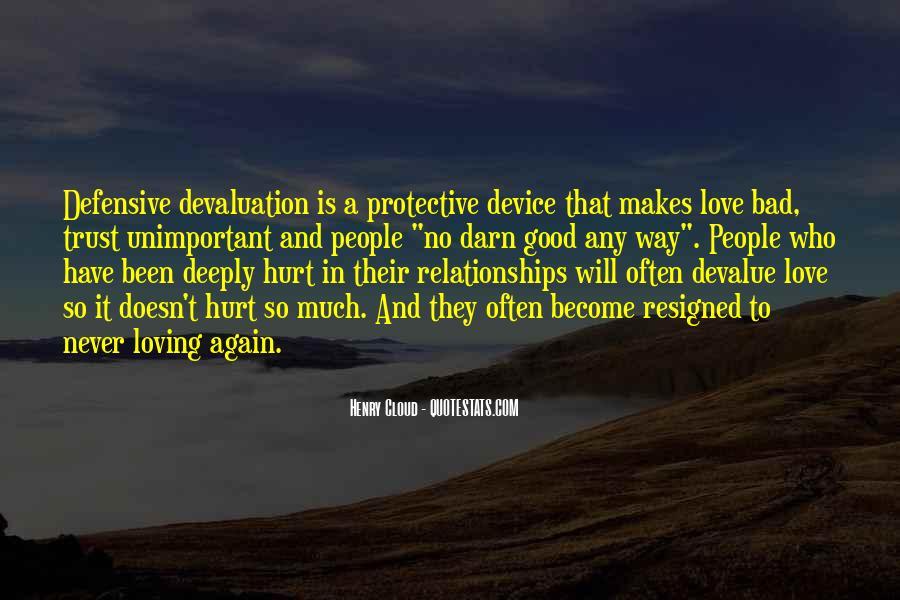 Quotes About Devaluation #1700425