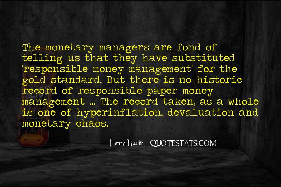 Quotes About Devaluation #170835