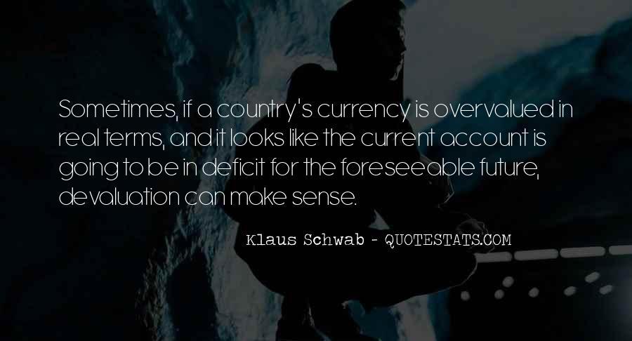Quotes About Devaluation #594770