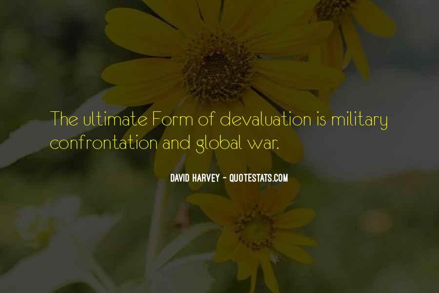 Quotes About Devaluation #96373