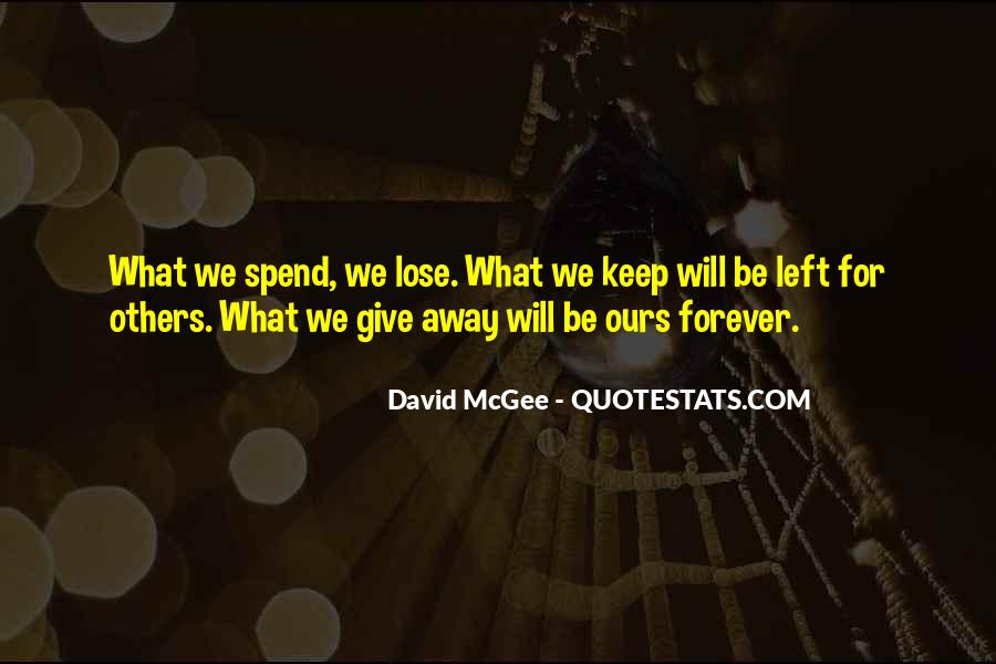 We Will Be Forever Quotes #400997