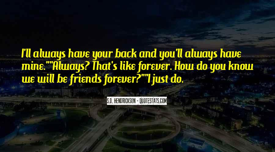 We Will Be Forever Quotes #839205