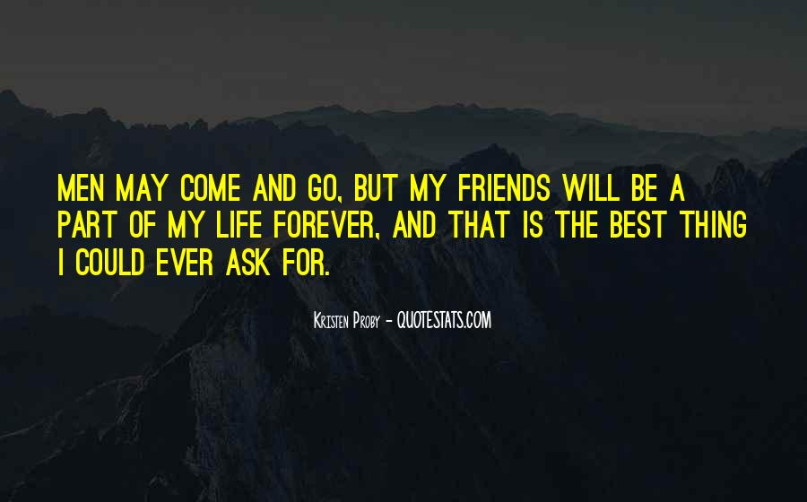 We Will Be Friends Forever Quotes #147484