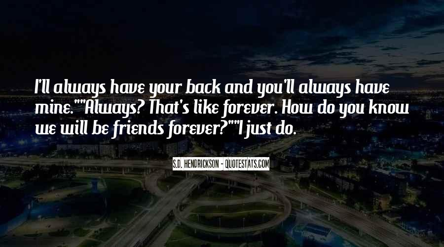 We Will Be Friends Forever Quotes #839205