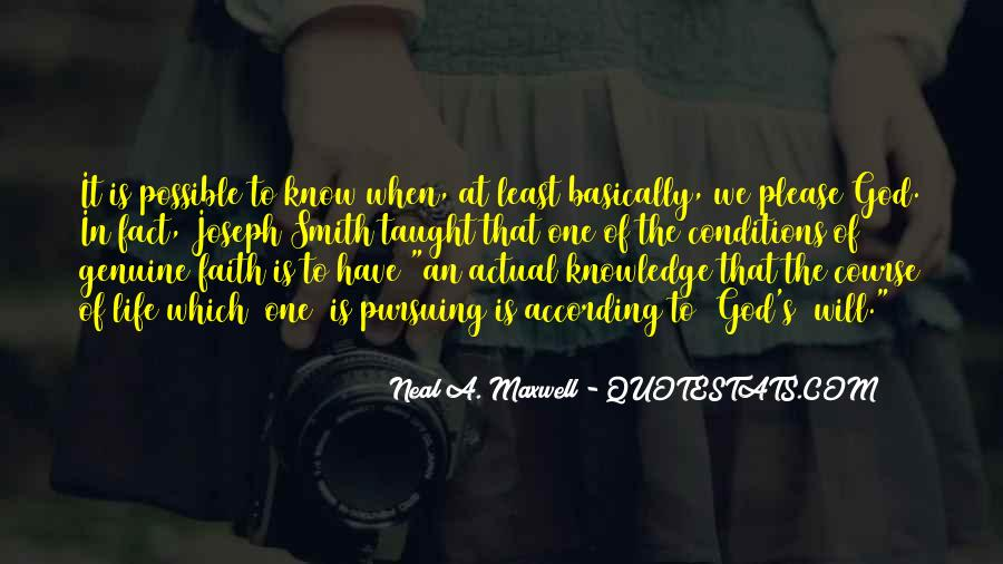 Quotes About Pursuing God #1577154