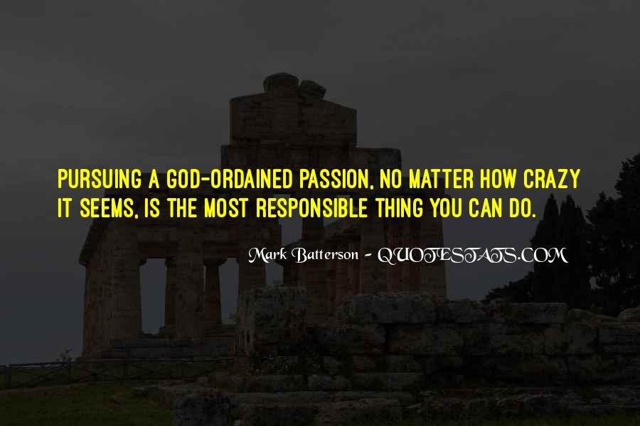 Quotes About Pursuing God #1732742