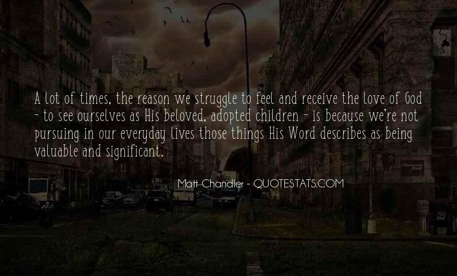 Quotes About Pursuing God #264893