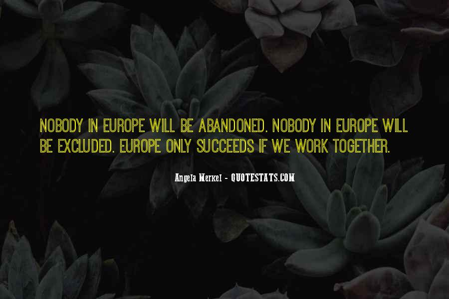 We Will Work Together Quotes #115115