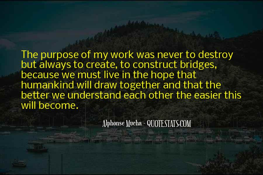 We Will Work Together Quotes #1183523