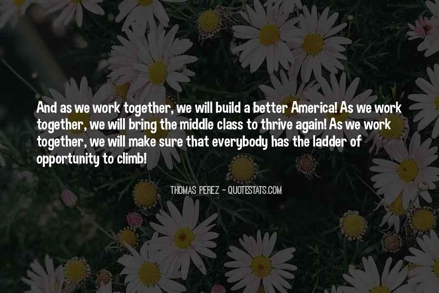 We Will Work Together Quotes #1432758