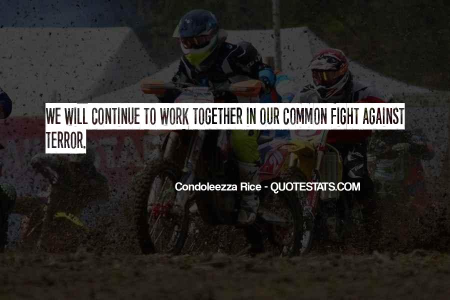 We Will Work Together Quotes #1609638