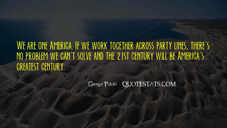 We Will Work Together Quotes #1670087