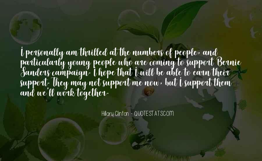 We Will Work Together Quotes #628930