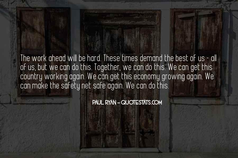 We Will Work Together Quotes #767446