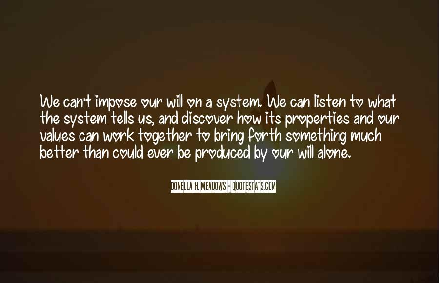 We Will Work Together Quotes #865594