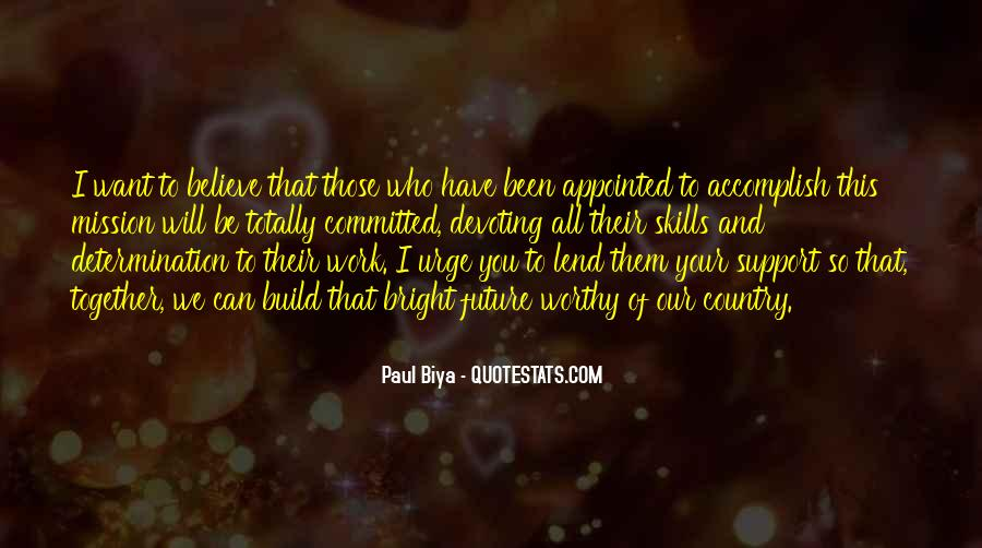 We Will Work Together Quotes #947317
