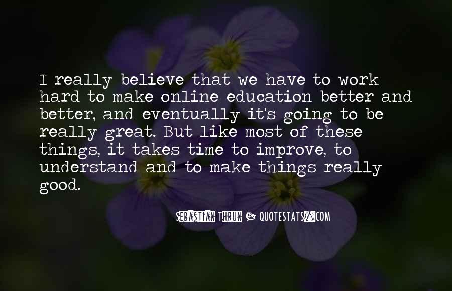 We'll Make It Work Quotes #407679