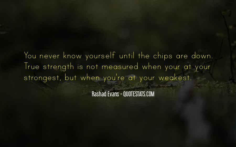 Weakest Quotes #316757