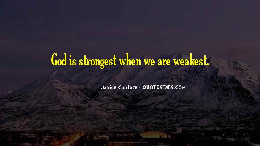 Weakest Quotes #429653