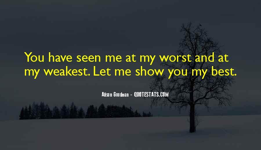 Weakest Quotes #95081