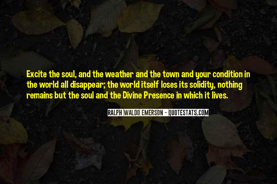 Weather Condition Quotes #254919