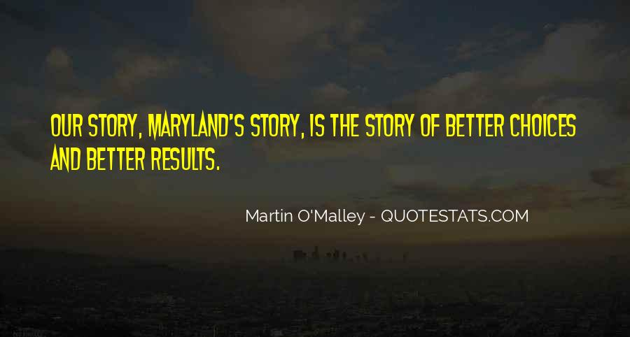 Quotes About Maryland #1139954