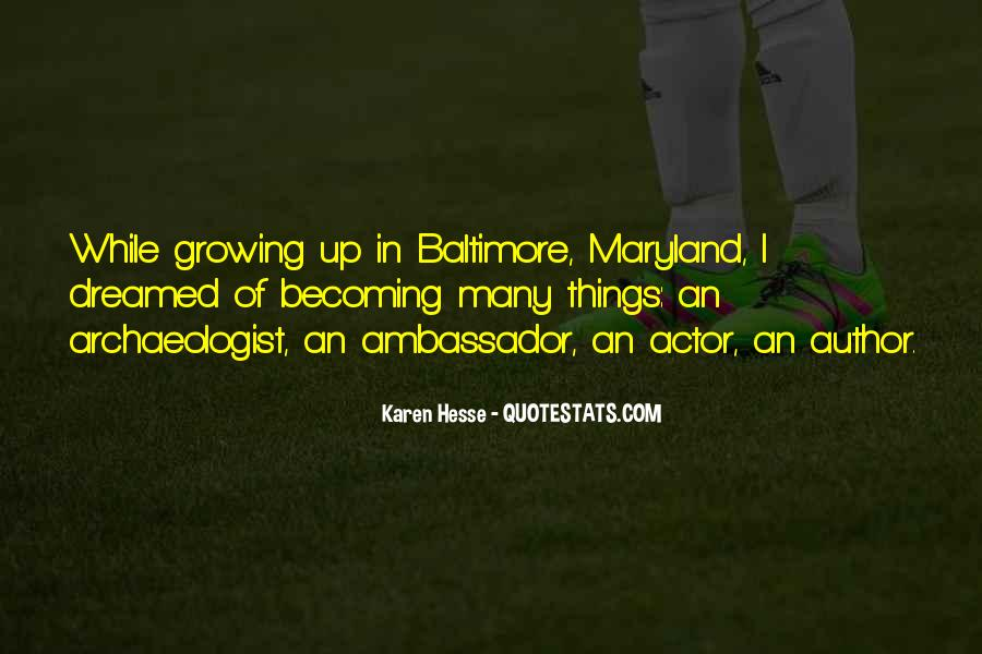 Quotes About Maryland #1646664